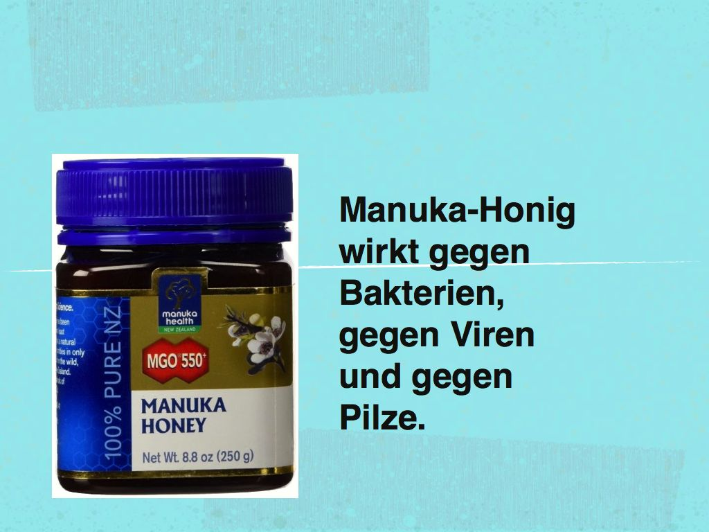 Manuka Honig Gegen Viren